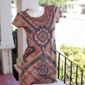 Cloe Indian Pattern Tunic